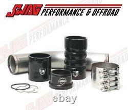 11-20 Ford 6.7 6.7L Powerstroke Diesel H&S RAW Hot Side Intercooler Pipe Kit