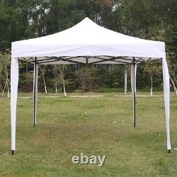 3x3m Outdoor Pop Up Gazebo Patio Maquee Canopy Wedding Party Tent with Side Wall