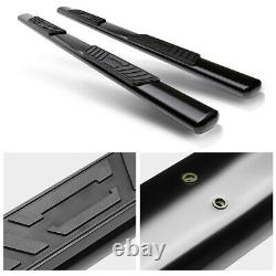 5 (OVAL TUBE) Side Step Bar Running Boards for 01-03 Ford F150 Super Crew Cab