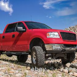 5 OVAL Tube Running Board Side Step Nerf Bar for 04-08 Ford F150 Super Crew Cab