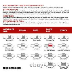 6 OVAL Tube Running Board Side Step Nerf Bar for 02-09 Dodge Ram Quad/Crew Cab