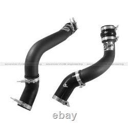 AFe 3 Black Aluminum Hot Side Intercooler Pipe For Dodge Cummins 6.7L 2013-2014