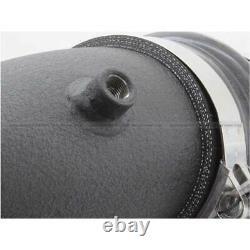 AFe 3 Black SS Cold Side Intercooler Pipe For GM Duramax 6.6L 11-15