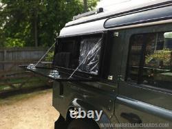 Aluminium Land Rover Toolbox 4x4 Side Pod Wheel Arch Truck Storage Powder Coated