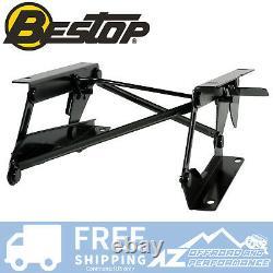 Bestop Driver Side Seat Riser 76-95 Jeep CJ7 Wrangler YJ Black