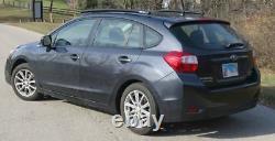 Fits 2012-2016 Subaru Impreza 5 DR, Side Roof Rails, Rack, Black Powder Coated, SSD