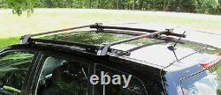 Fits 2014 Subaru Forester SSD Roof Rails, Rack, Black Powder Coated, Side Rails