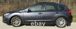 Fits 2014 Subaru Impreza 5 DR, Side Roof Rails, Rack, Black Powder Coated, SSD