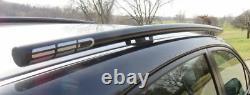 Fits 2015 Subaru Impreza 5 DR, Side Roof Rails, Rack, Black Powder Coated, SSD