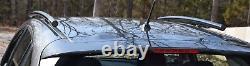 Fits 2017-2020 Subaru Impreza 5 DR, Side Roof Rails, Rack, Black Powder Coated, SSD