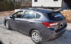 Fits 2017 Subaru Impreza Sport 5 DR, Side Roof Rails, Rack, Black Powder Coat, SSD