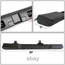 For 07-16 Wrangler Jk 2-door Powder Coated Black Oe Style Side Step Nerf Bar Kit