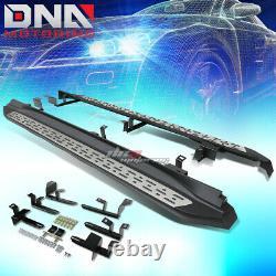 For 14-16 Toyota Highlander Powder Coated Black Oe Style Side Step Nerf Bar Kit