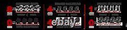 For Mitsubishi Galant Front + Rear Brake Calipers And Rotors + Ceramic Pads