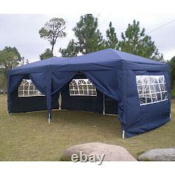Gazebo 3x3/3x6 Heavy Duty Waterproof Tent Folding Marquee Muti-Colourfor withsides