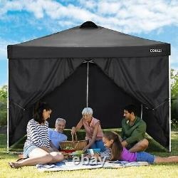 Gazebo 3x3M/3x6M Heavy Duty Canopy Tent Pop-up Waterproof Garden Marquee withSides