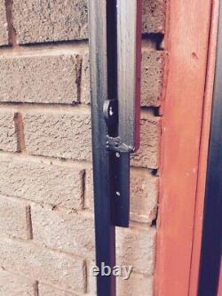 Heavy Duty Steel Security Door, Gate. Metal Garden Side Gate / Wrought Iron Gate