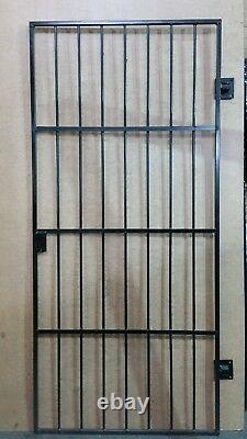 Heavy Duty Wrought Iron Gate / Gate. Metal Garden Side Gate With Pad Lock Option