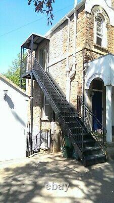 Internal Steel Staircase / External Metal Fire Escape / Access Steps / Platforms