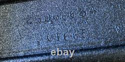 Nos Oem 2009 Hummer H3 Brush Guard Rh Side Black Powder Coated Molding, Trim