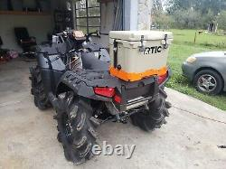 Polaris Sportsman Highlifter Aluminum Cooler Rack Without Side Arms