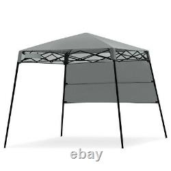 Pop Up Gazebo 1.8M x 1.8M with 1 Side Panel Garden Patio Marquee Shelter Tent