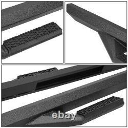 Powder Coated Side Arm Step Bar Running Boards For 18-20 Jeep Wrangler Jl 4-door