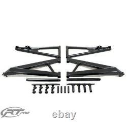 RT Pro RTP5201519 Black Powder Coated Arm Kit Bundle For Polaris RZR XP 900