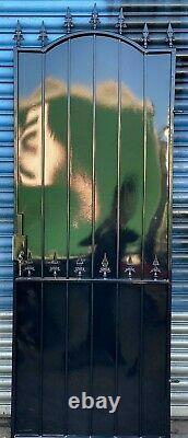 Steel Security Door, Gate. Metal Garden Side Gate With Key Lock (powder Coated)