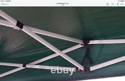 TITAN GAZEBO HEX 40mm HEAVY DUTY POP UP COMMERCIAL GRADE 3m x 4.5m