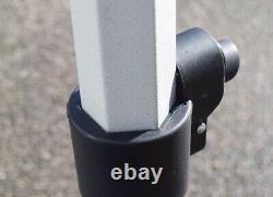 TITAN HEAVY DUTY COMMERCIAL GRADE POP UP GAZEBO 3m x 3m, 2.5m x 2.5m, 2m x 2m