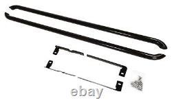 VW T5 T6 Transporter Black Powder Coat Sportline Style Side Bars Guard LWB 60m