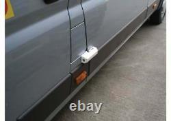 Van Side + Rear Door Dead Lock SINGLE-TWIN-TRIPLE Milenco Thule Black or White