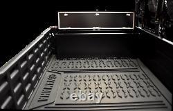 Yamaha Viking Rear Cargo Lockable Storage Box (Side Mounted) Black Powder Coated
