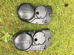 Yamaha rd350lc rd250lc engine cover left hand side with new powder coat 1 only